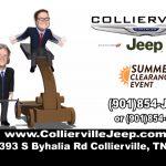 """Collierville CDJR - """"Summer Clearance"""""""