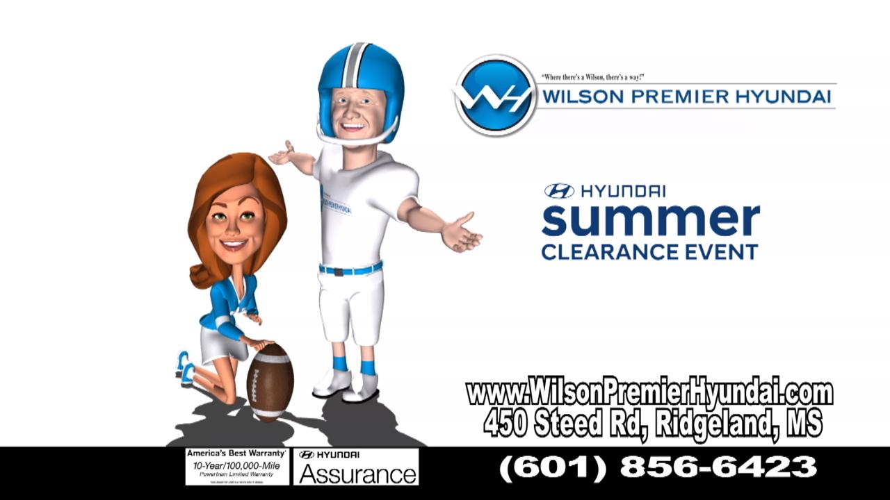 "Wilson Hyundai - ""Summer Clearance"""